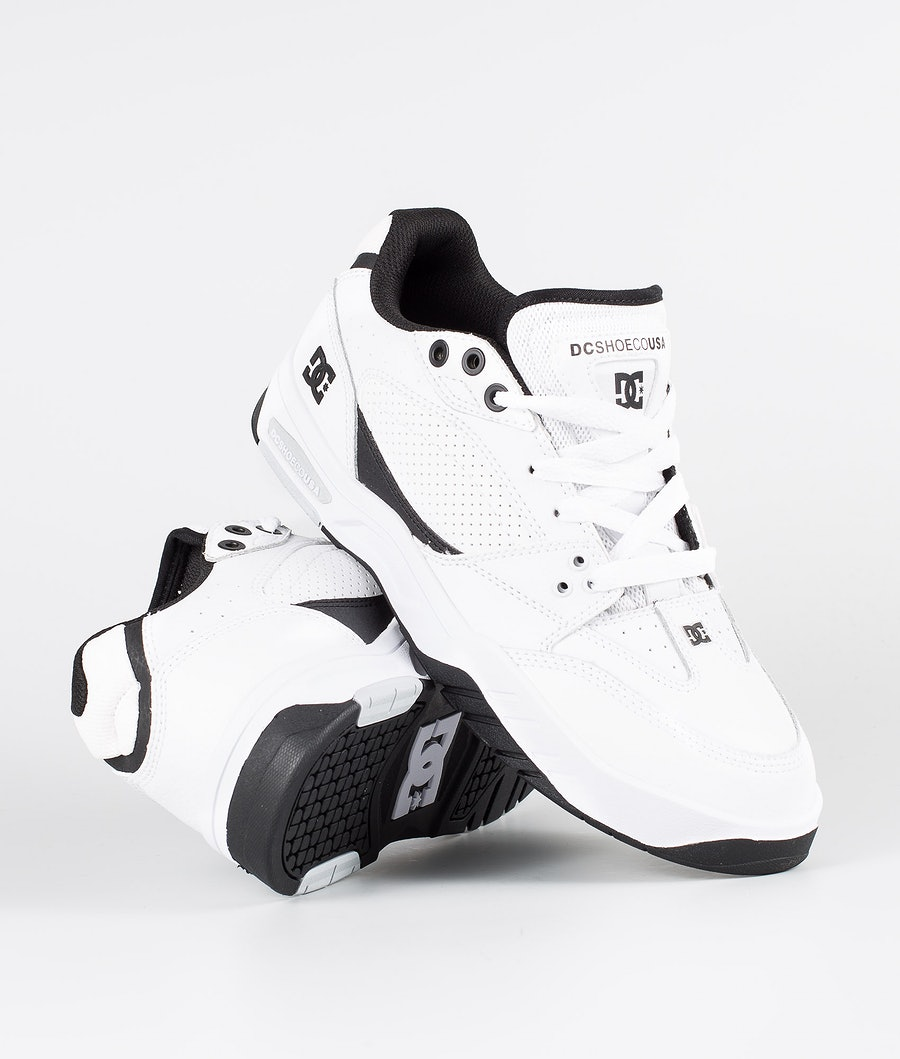 DC Maswell Shoes White/Black