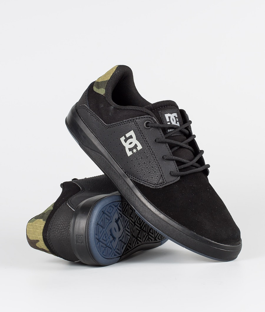 DC Plaza Tc Se Skor Black Camo
