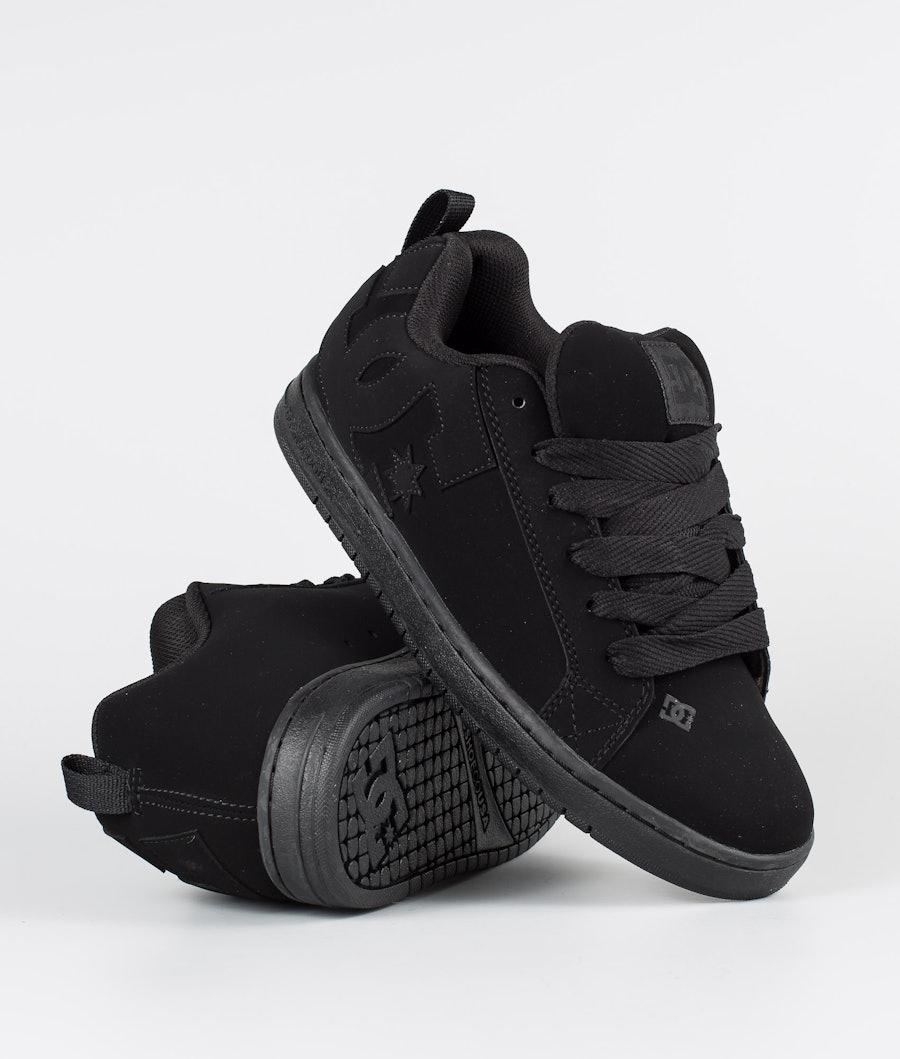 DC Court Graffik Shoes Black/Black/Black
