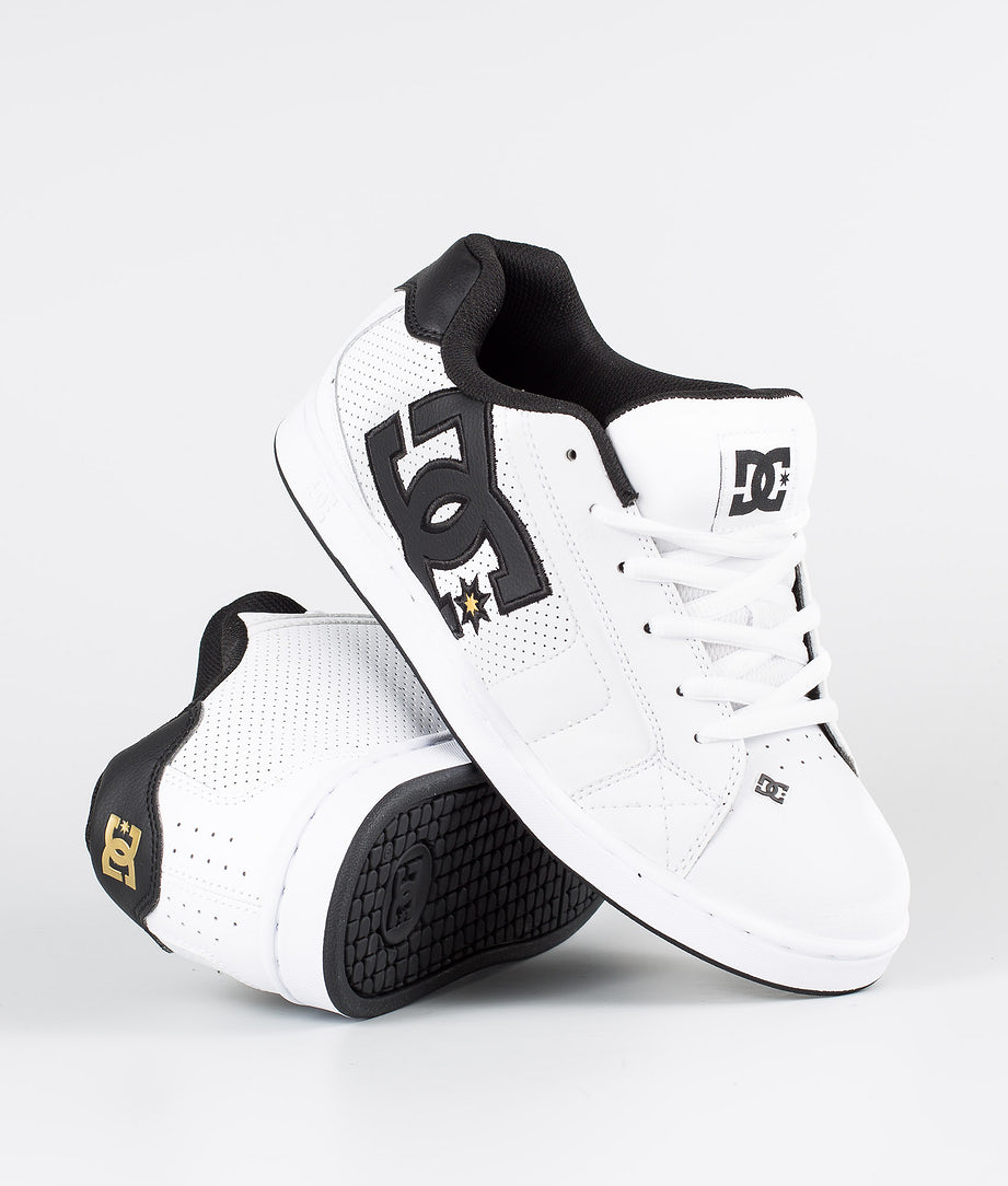 DC Net Chaussures White/Gold