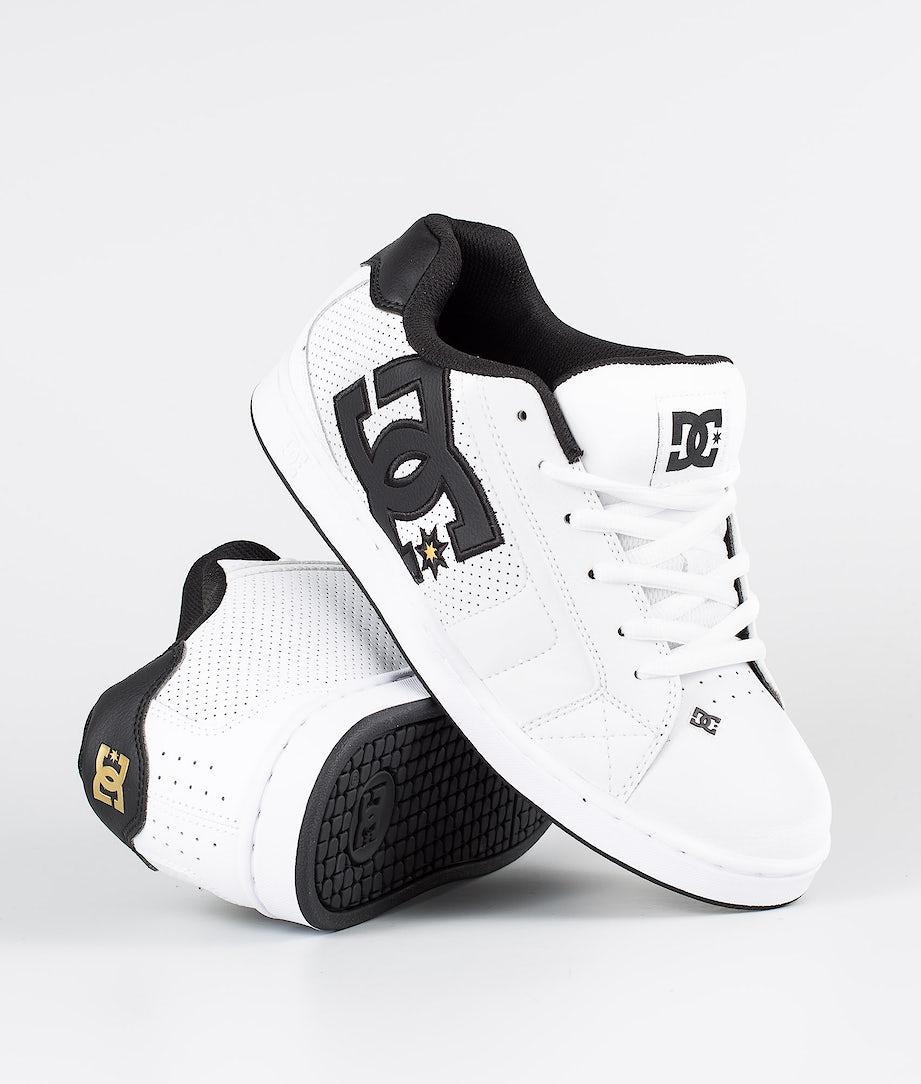 DC Net Shoes White/Gold