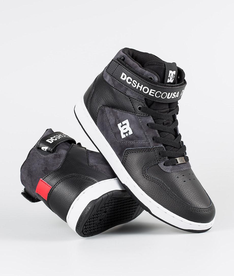 DC Pensford Se Shoes Black/Grey/Red
