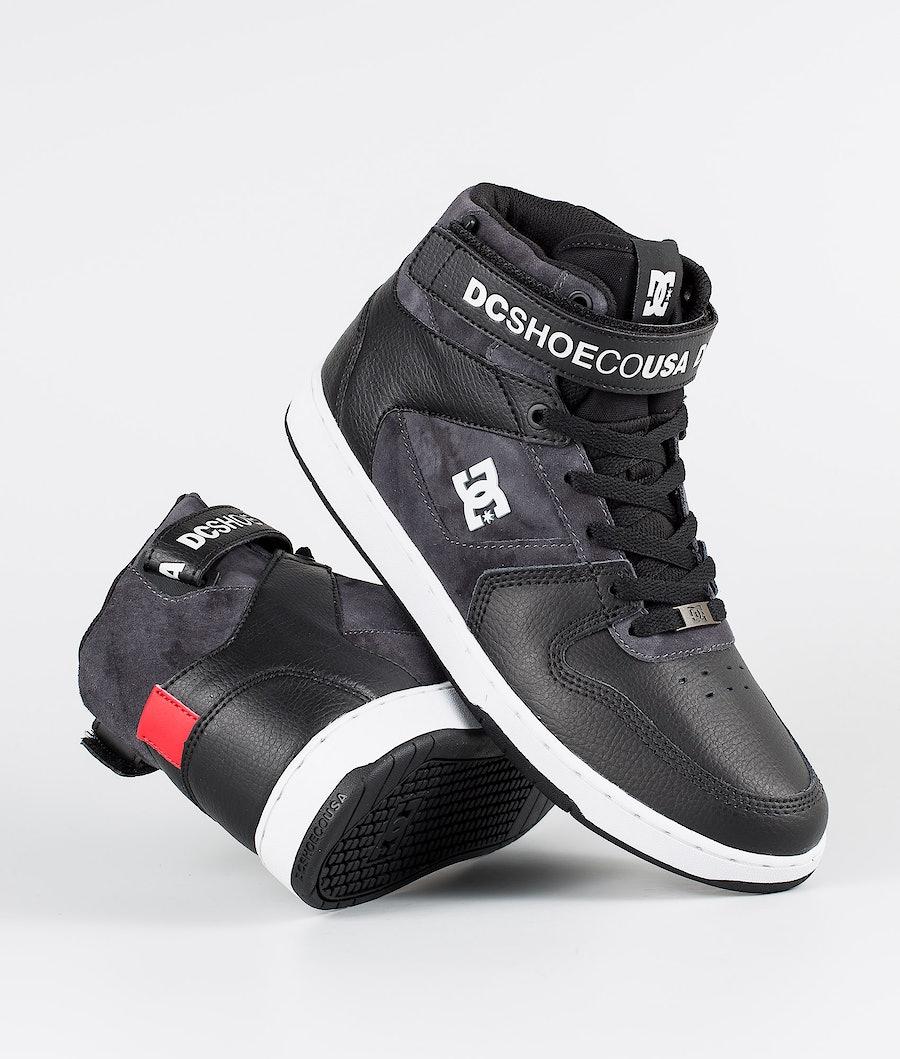 DC Pensford Se Skor Black/Grey/Red