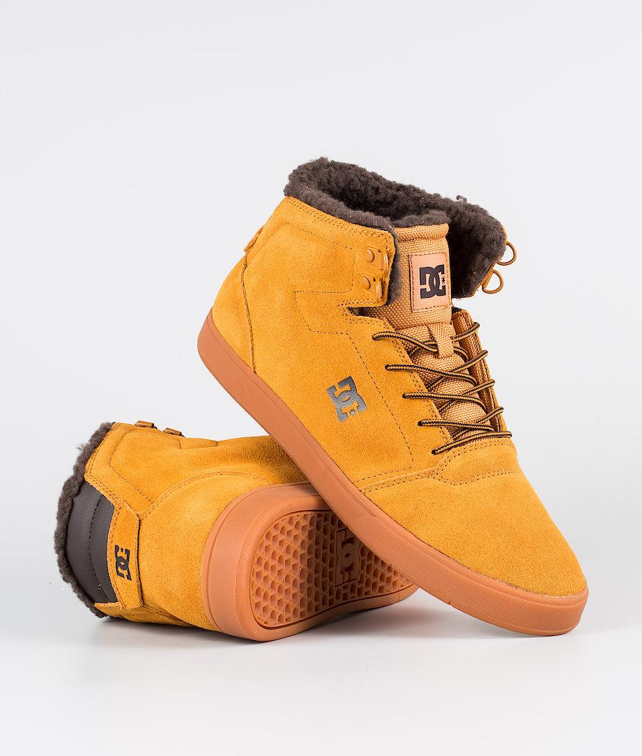 DC Crisis High Wnt Shoes Tan/Brown