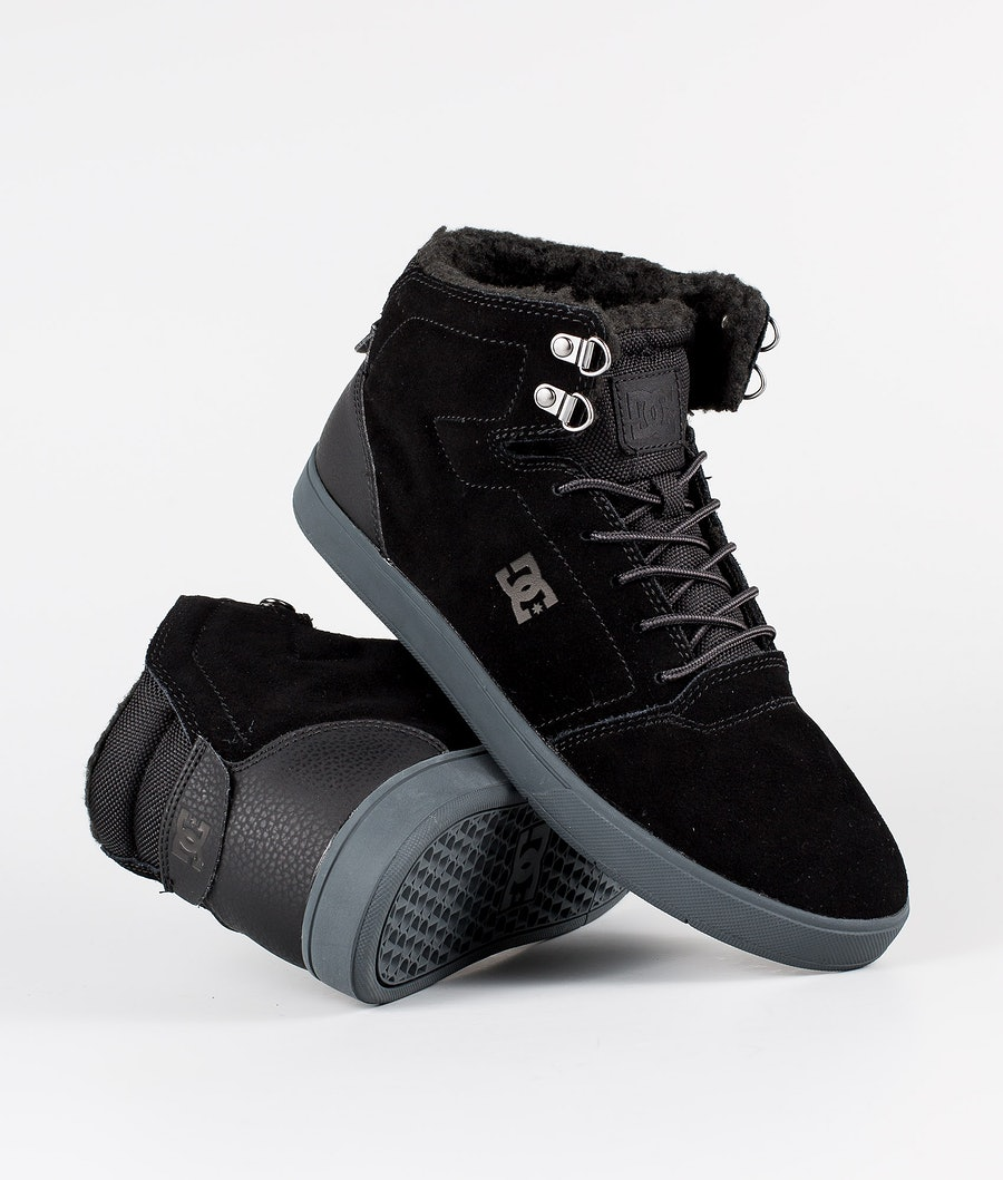 DC Crisis High Wnt Shoes Black/Grey