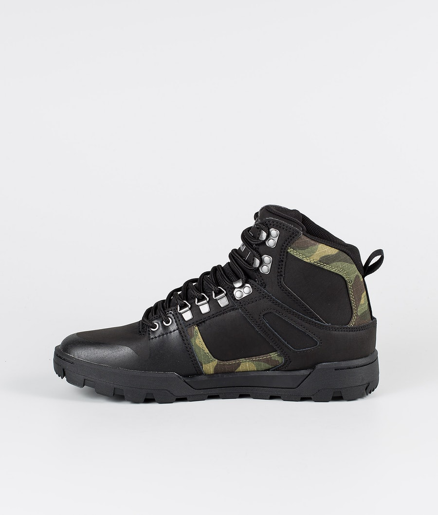 DC Pure High-Top Wr Boot Chaussures Black/Camo