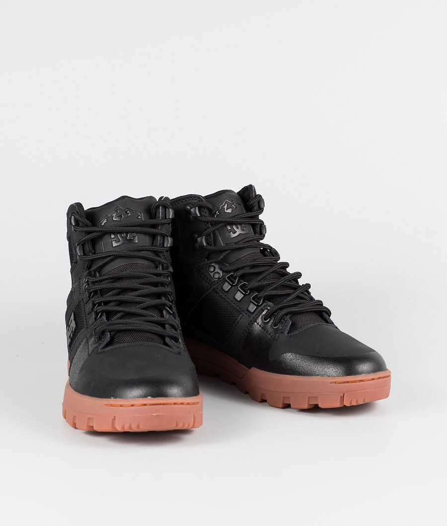DC Pure High-Top Wr Boot Chaussures Black/Gum
