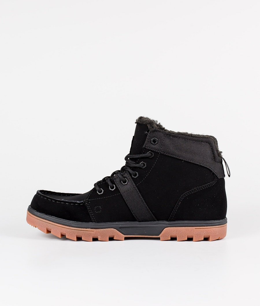 DC Woodland Shoes Black/Gum