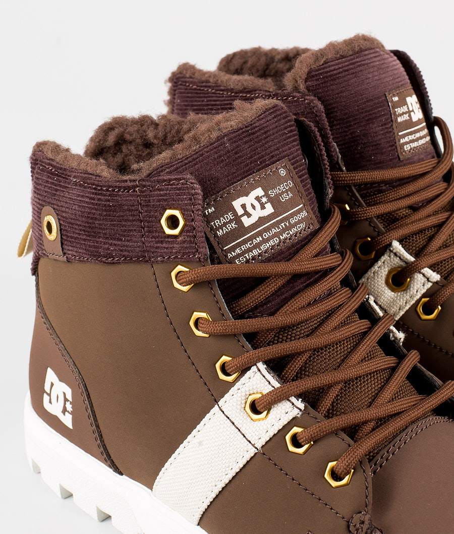 DC Woodland Shoes Chocolate Brown