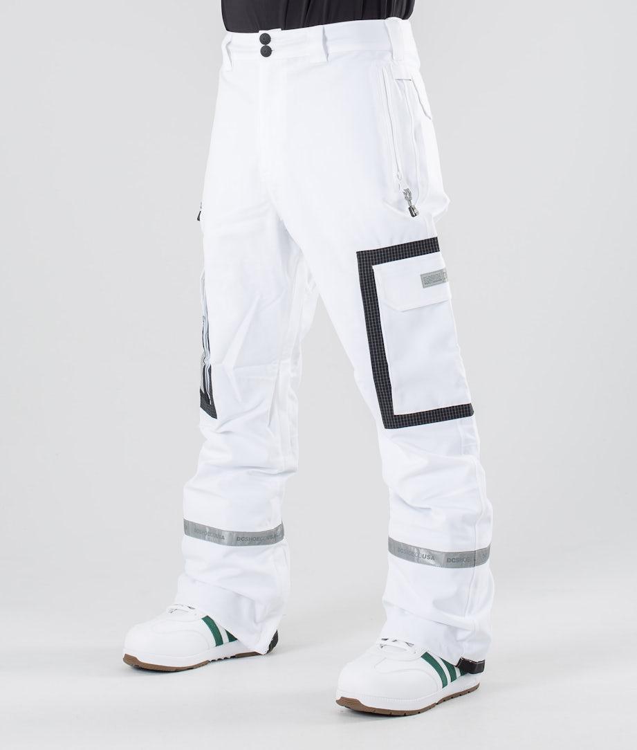 DC Revival Lumilautailuhousut White