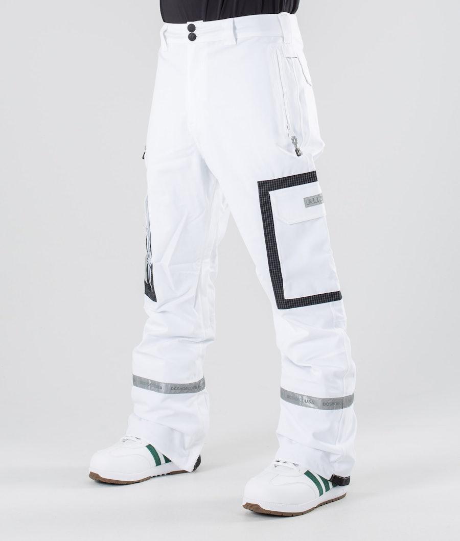 DC Revival Pantaloni da snowboard White