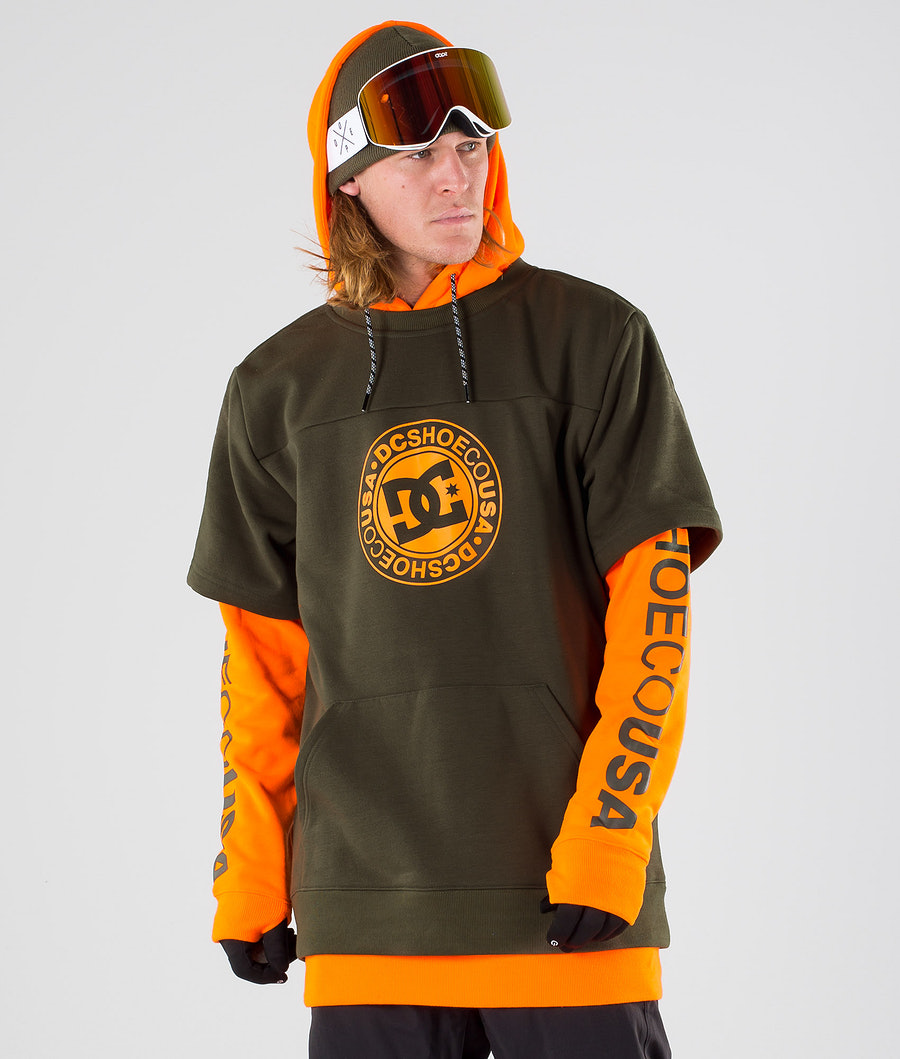 DC Dryden Snowboard Jacket Shocking Orange