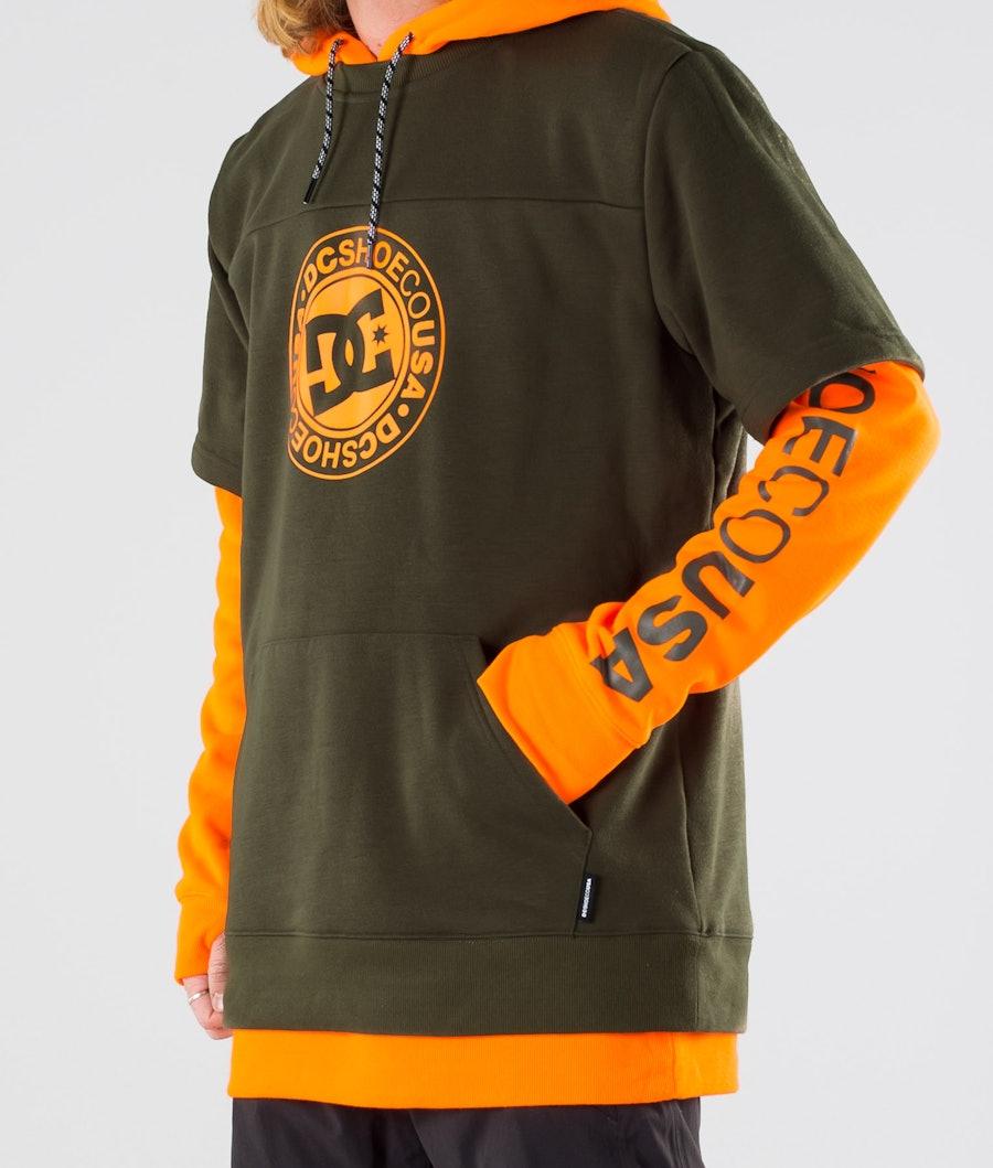 DC Dryden Snowboard Jacket Shocking Orange