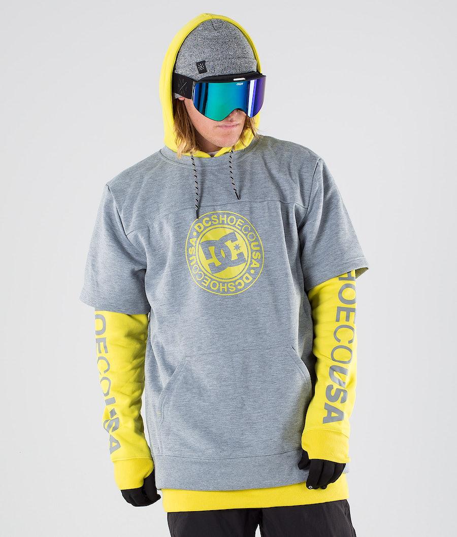 DC Dryden Snowboardjakke Warm Olive