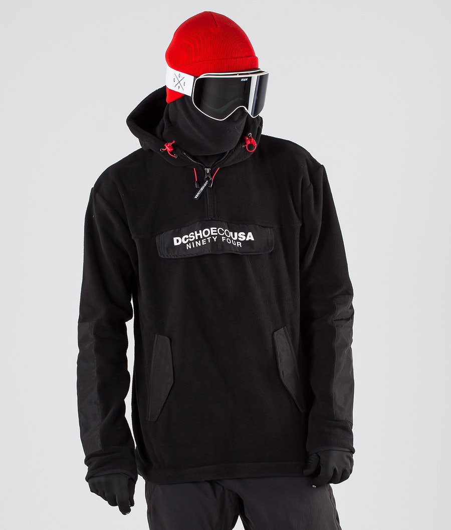 DC Tagans Hood Snowboardjakke Black