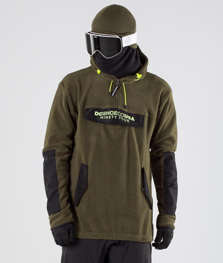 DC Tagans Hood Snowboardjakke Fatigue Green