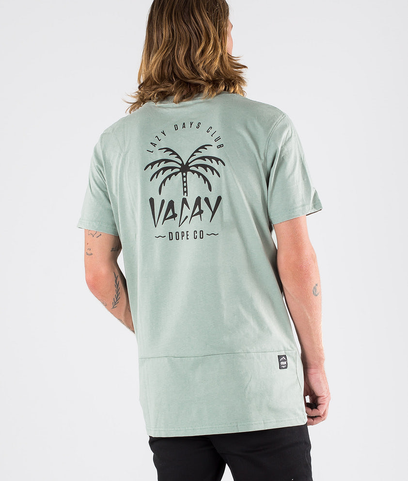 Dope Palm T-shirt Faded Green