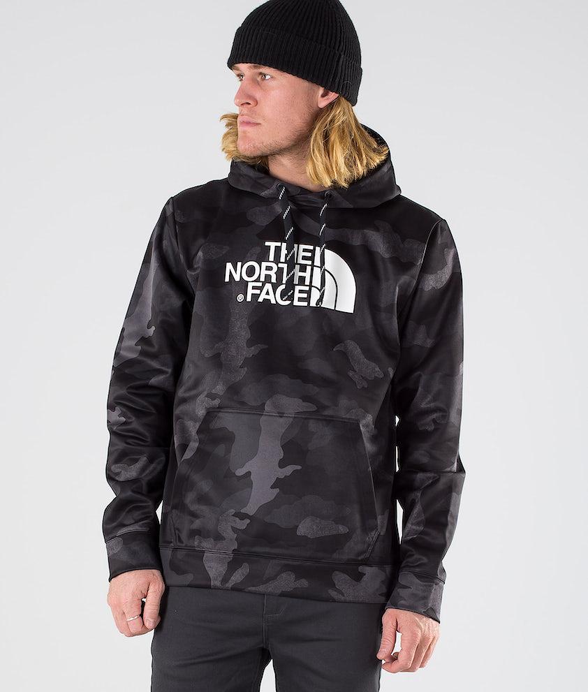 The North Face Sur- Eu Hood Tnf Black Waxed Camo Prnt