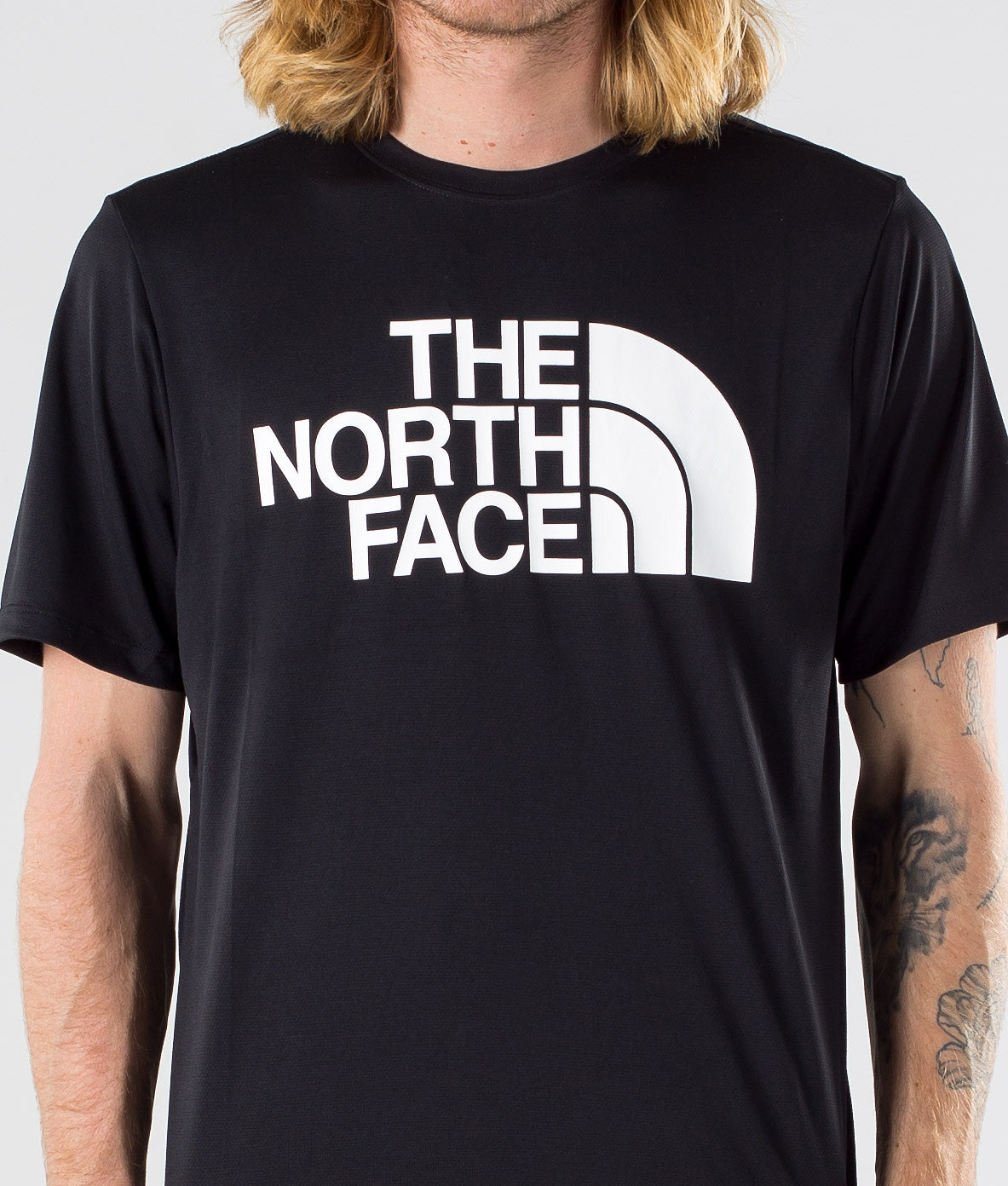 Kjøp Flex2 Big Logo S/S T-shirt fra The North Face på Ridestore.no - Hos oss har du alltid fri frakt, fri retur og 30 dagers åpent kjøp!
