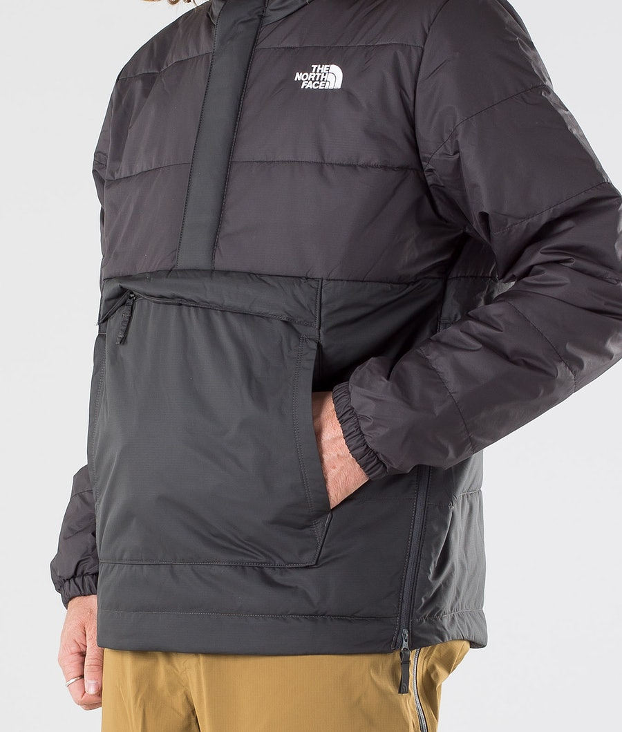 The North Face Insulated Fanorak Veste de Snowboard Asphalt Grey/Tnf Black