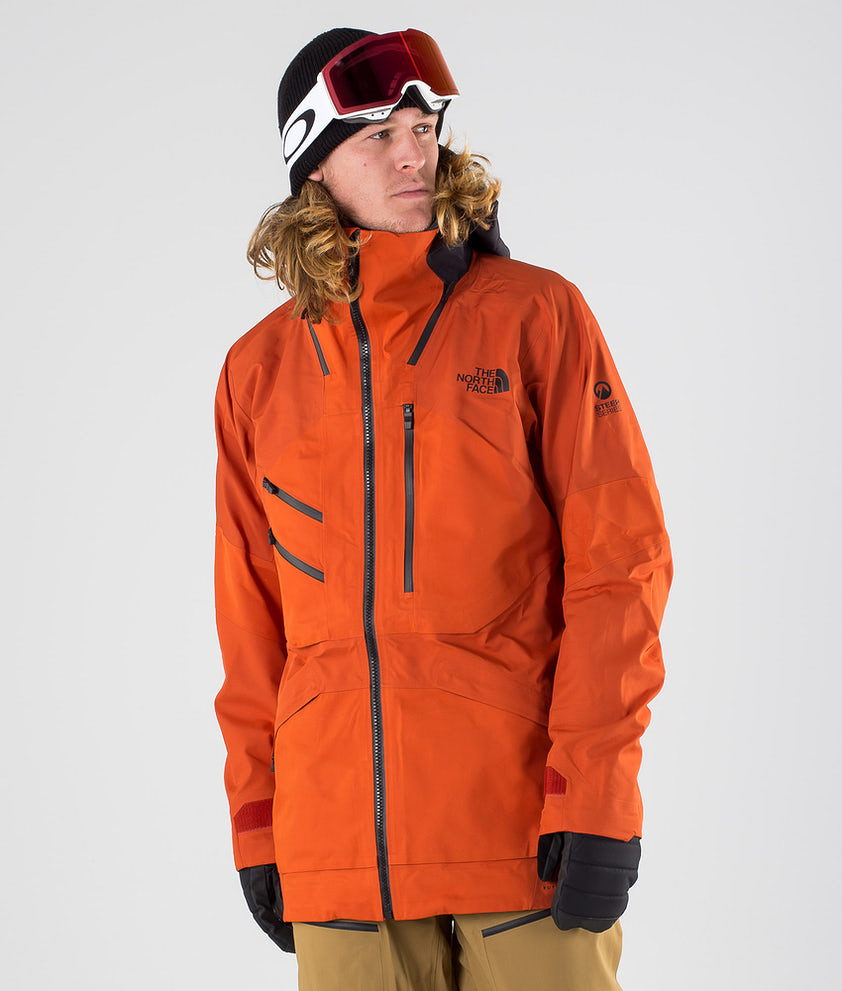 The North Face Brigandine Futurelight Snowboard Jacket Papayorgfuse/Wthrdblkfuse