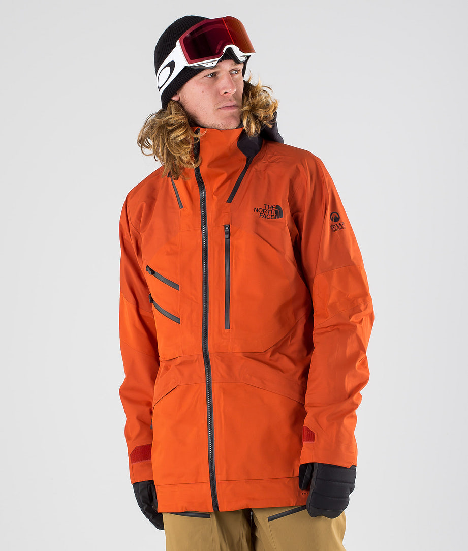 The North Face Brigandine Futurelight Snowboard Jacket Papayorgfuse/Wthrdblkfuse