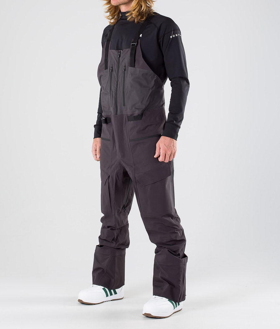 The North Face A-Cad Futurelight Bib Snow Pants Weathered Black