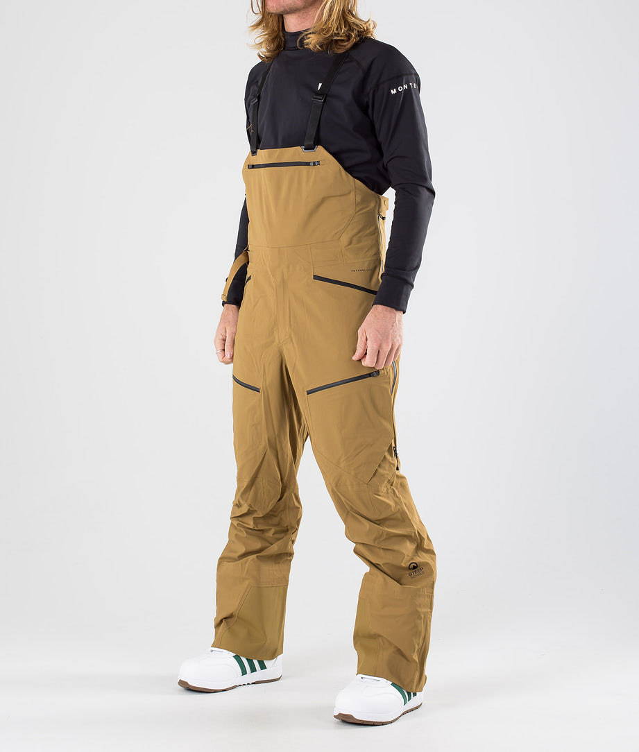 The North Face Purist Futurelight Bib Snow Pants British Khaki