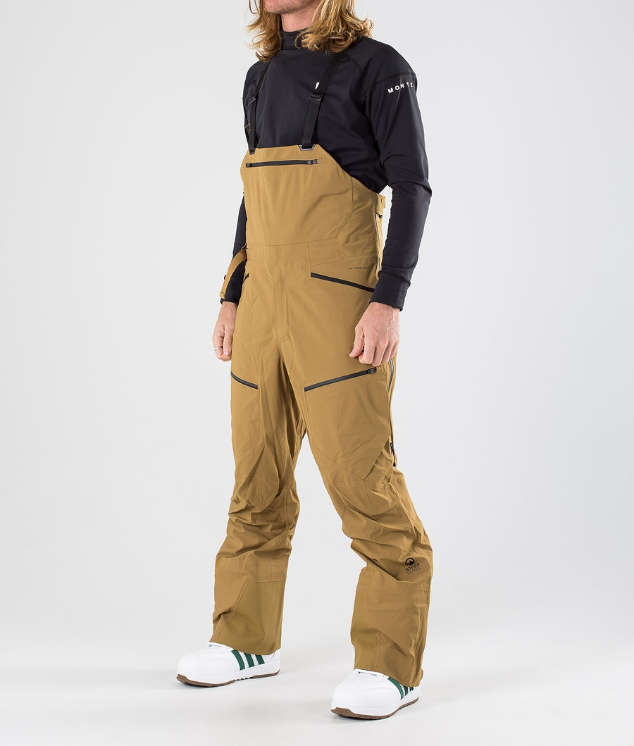 The North Face Purist Futurelight Bib Snow Pants British Khaki