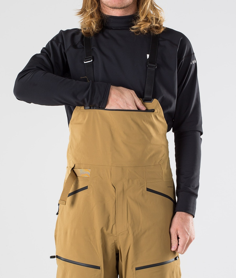 The North Face Purist Futurelight Bib Pantalon de Snowboard British Khaki