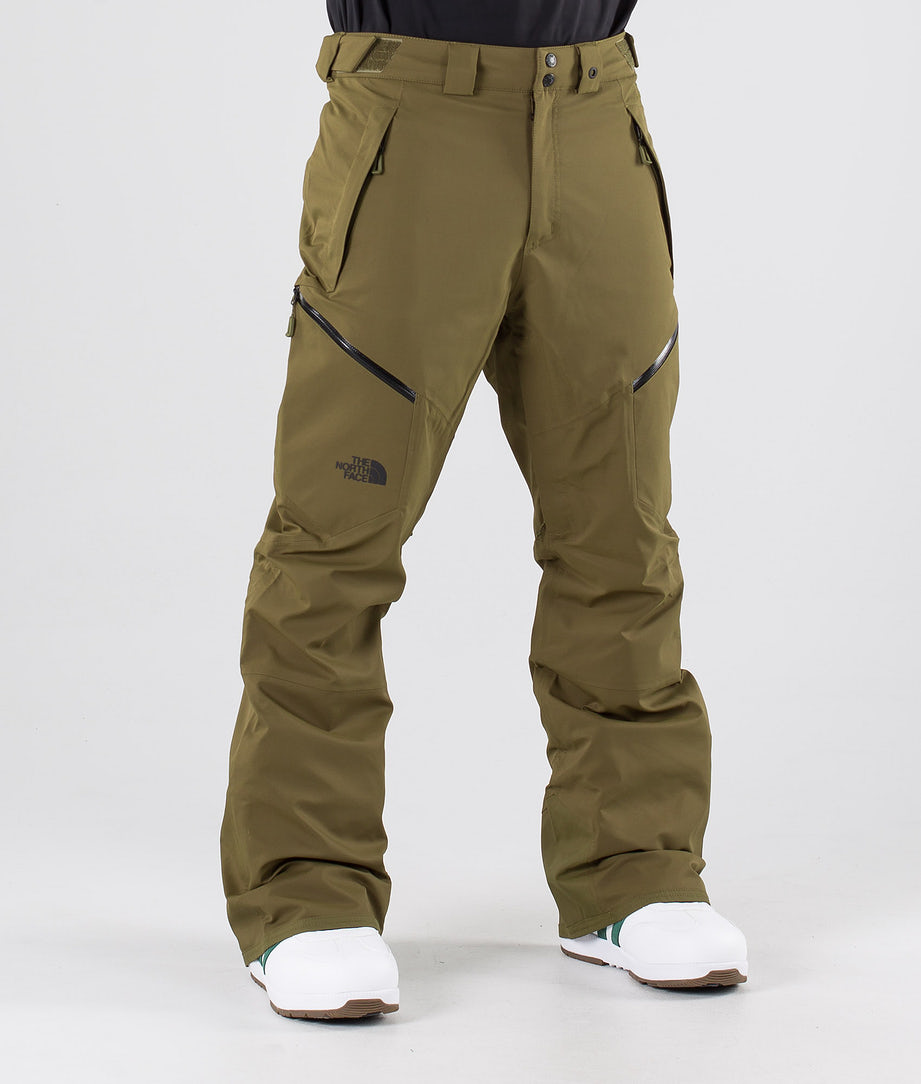 The North Face Chakal Lumilautailuhousut Military Olive
