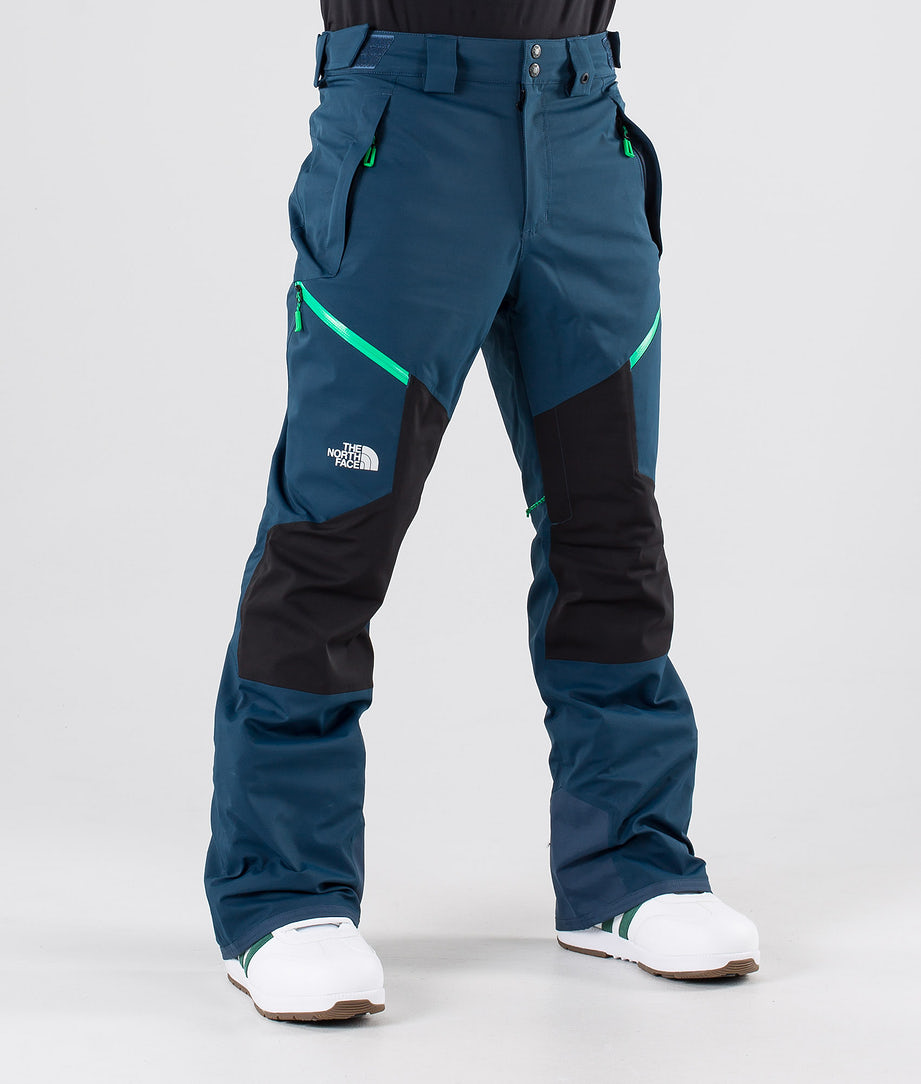 The North Face Chakal Lumilautailuhousut Blue Wing Teal/Tnf Black