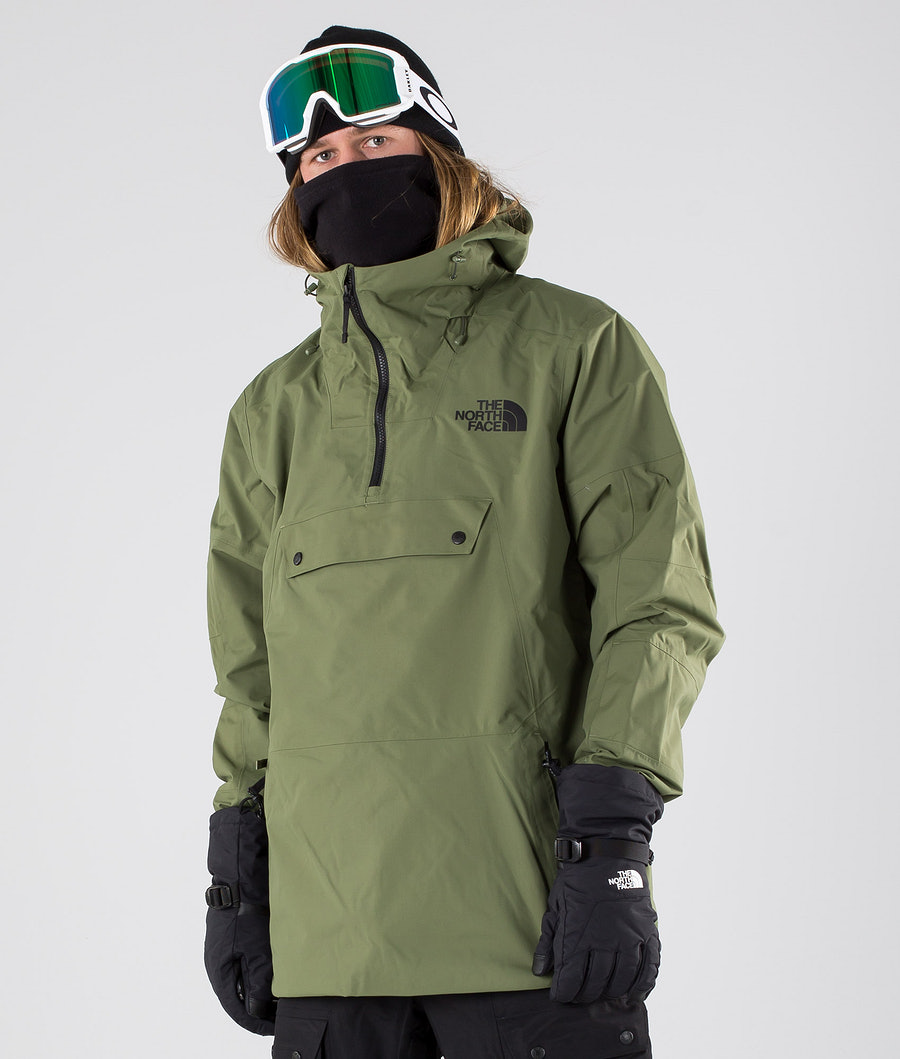 The North Face Silvani Anorak Snowboard Jacket Four Leaf Clover
