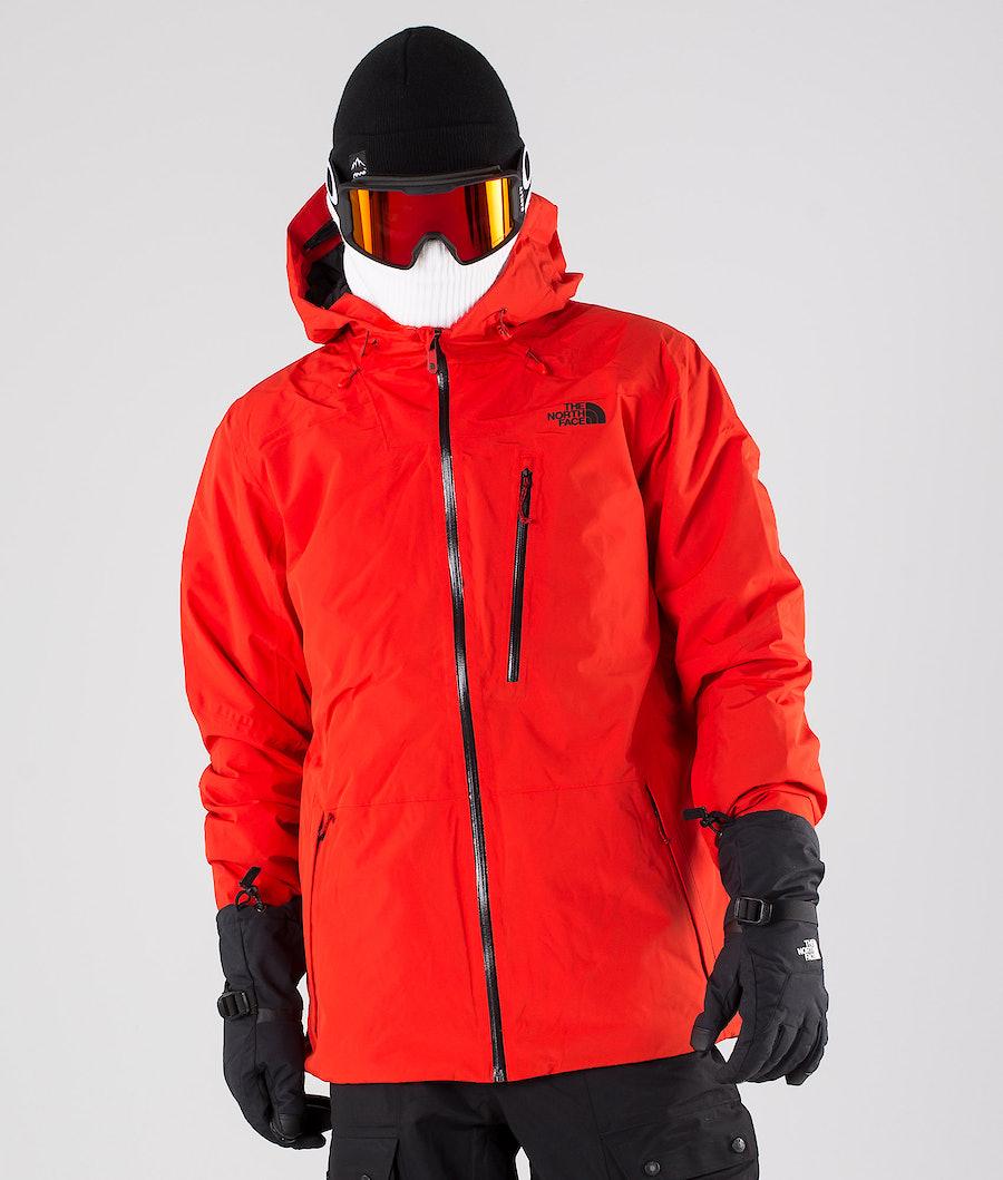 The North Face Descendit Snowboardjacke Fiery Red