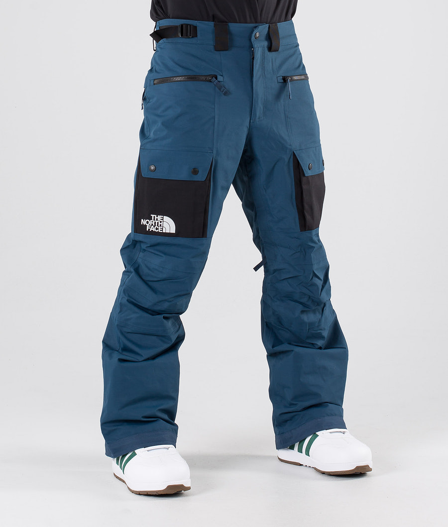 The North Face Slashback Cargo Snow Pants Blue Wing Teal/Tnf Black