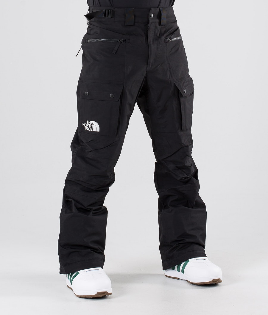 The North Face Slashback Cargo Snowboard Pants Tnf Black