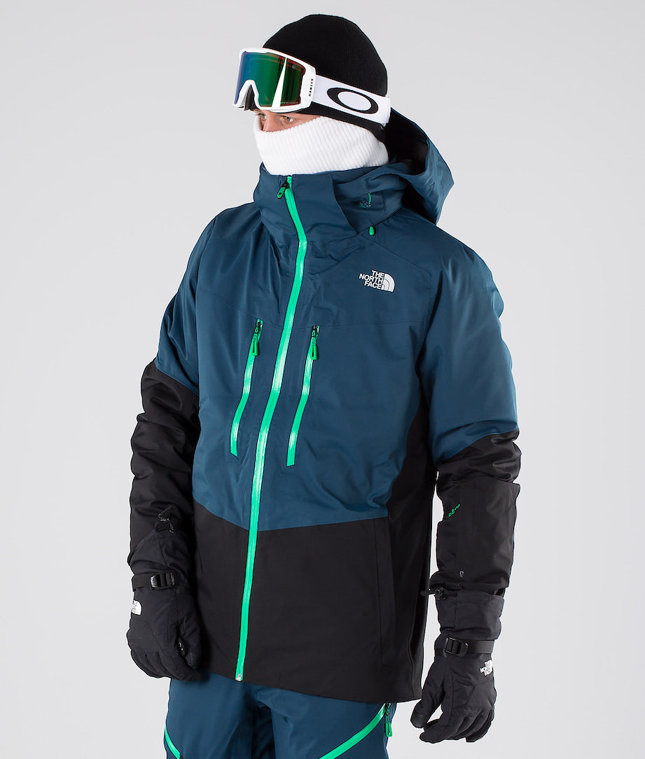 The North Face Chakal Lumilautailutakki Blue Wing/Black