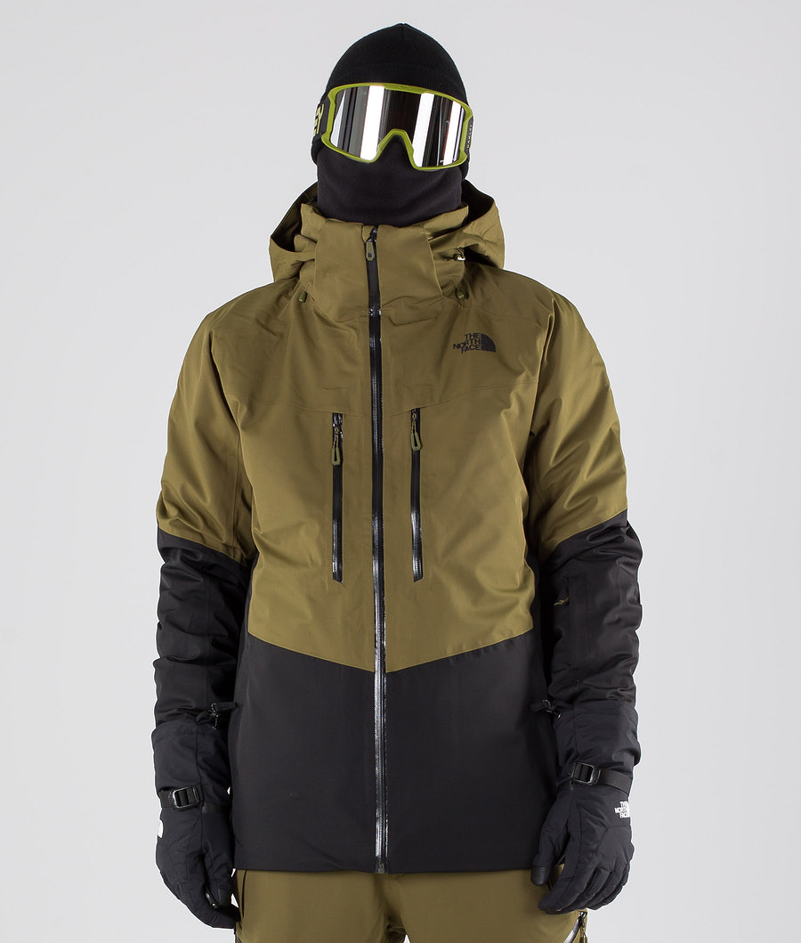The North Face Chakal Snowboardjacke Olive/Black