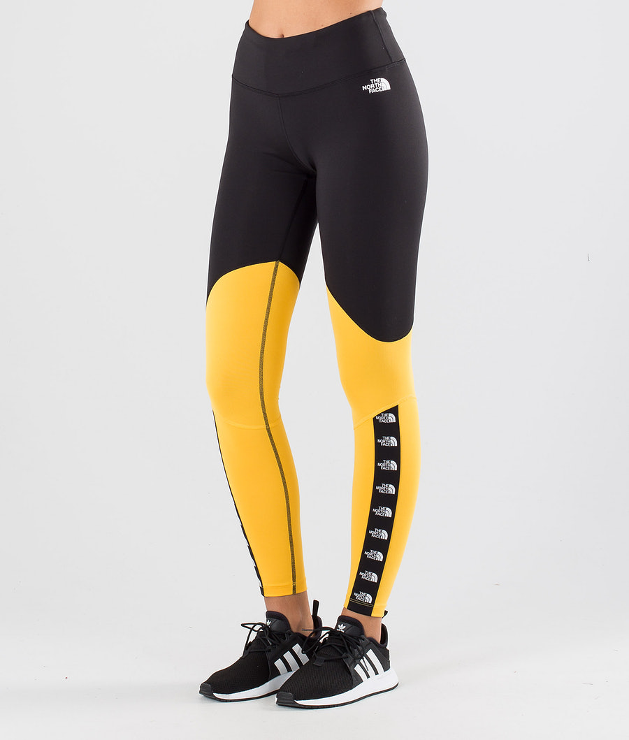 The North Face Tnl Tight Housut Tnf Yellow