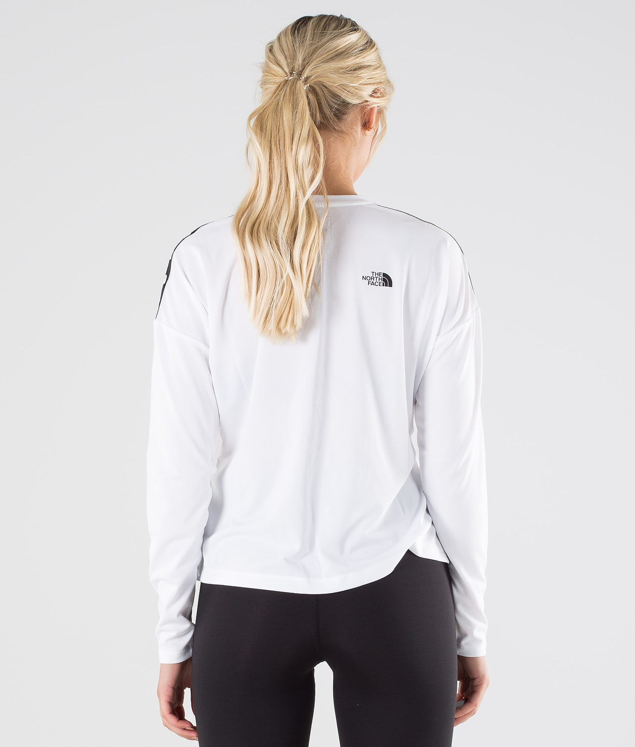 The North Face Tnl Crop L/S Tröja Tnf White