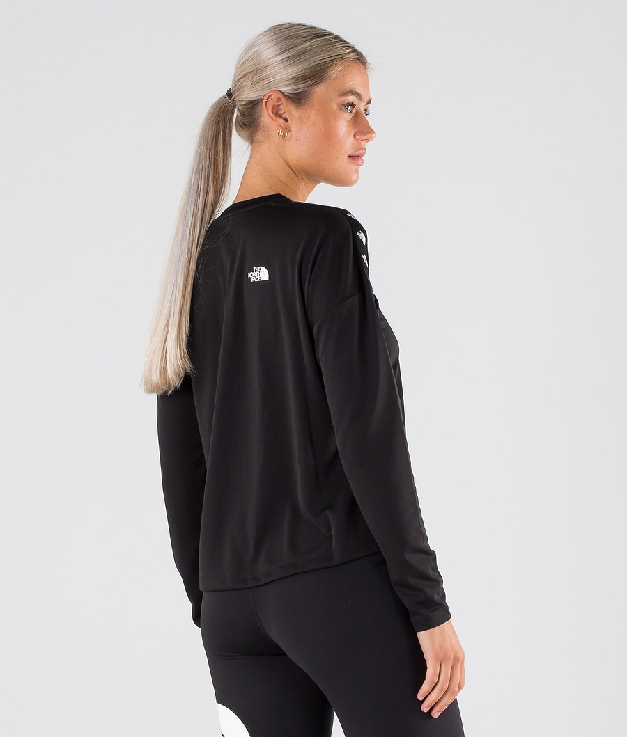 The North Face Tnl Crop L/S Tröja Dam Tnf Black