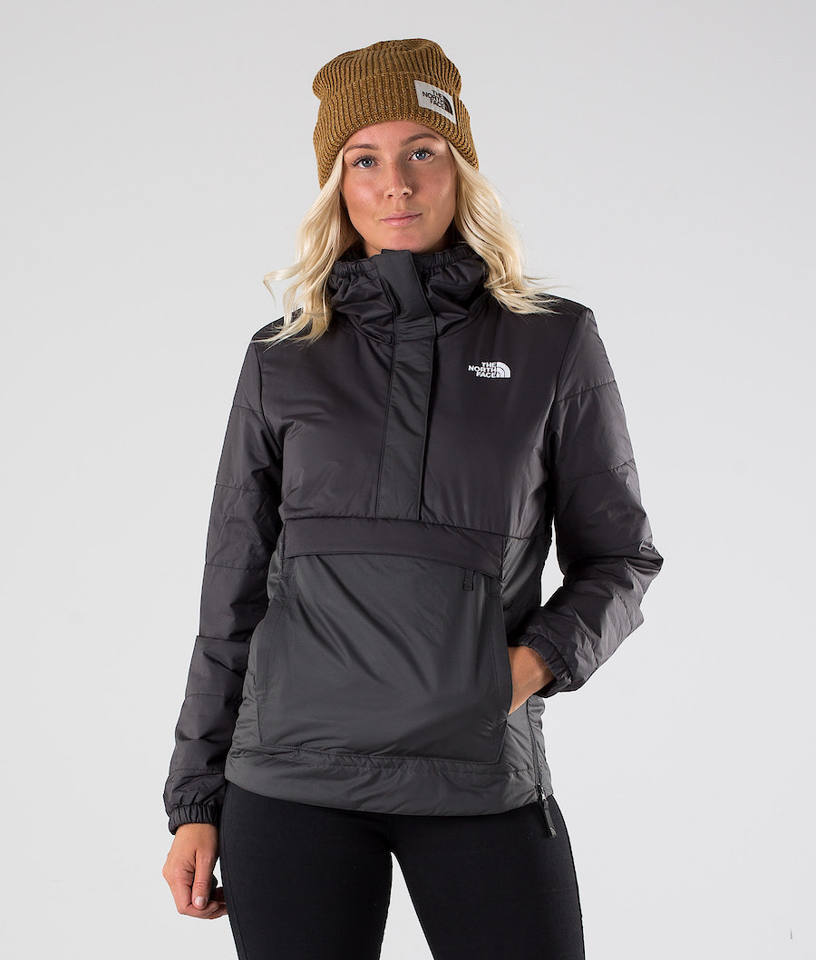 The North Face Insulated Fanorak Snowboard Jacket Tnf Black/Asphalt Grey