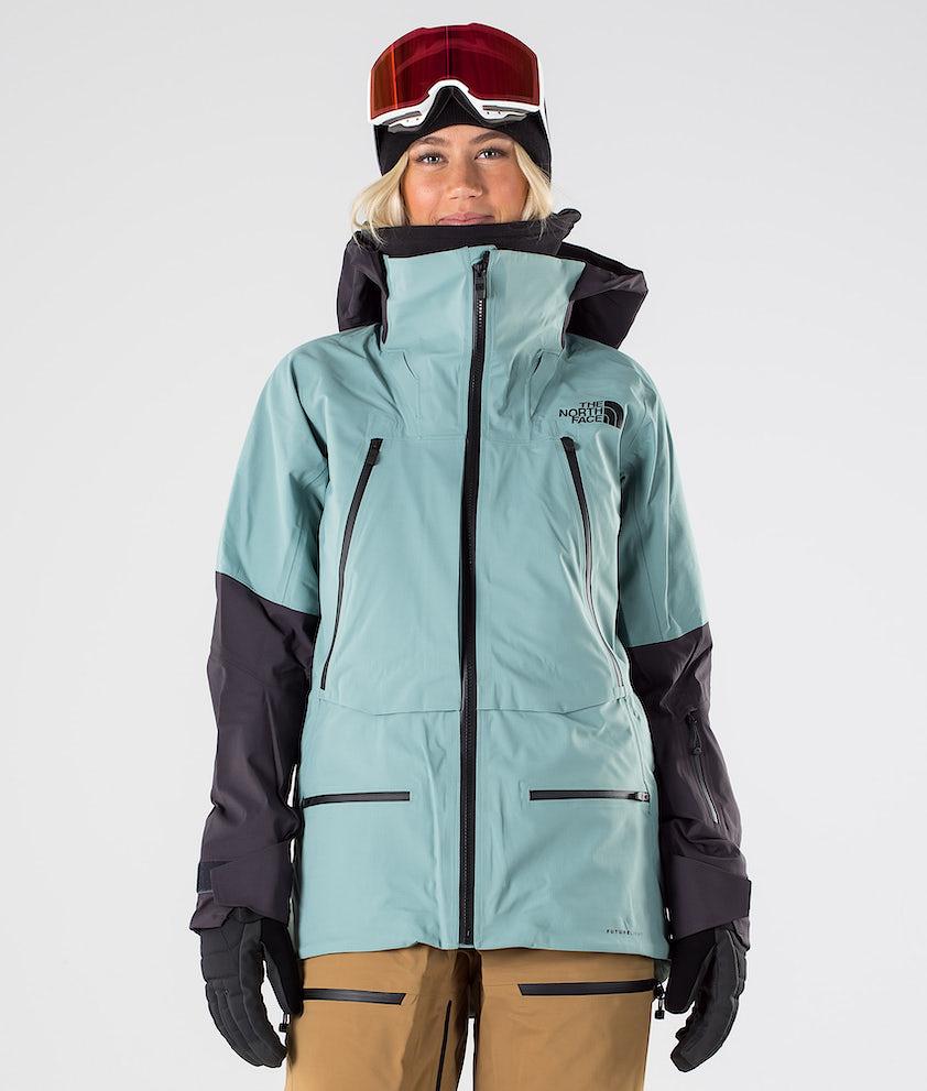 The North Face Purist Futurelight Snowboard Jacket Trellis Green/Weathrd Black