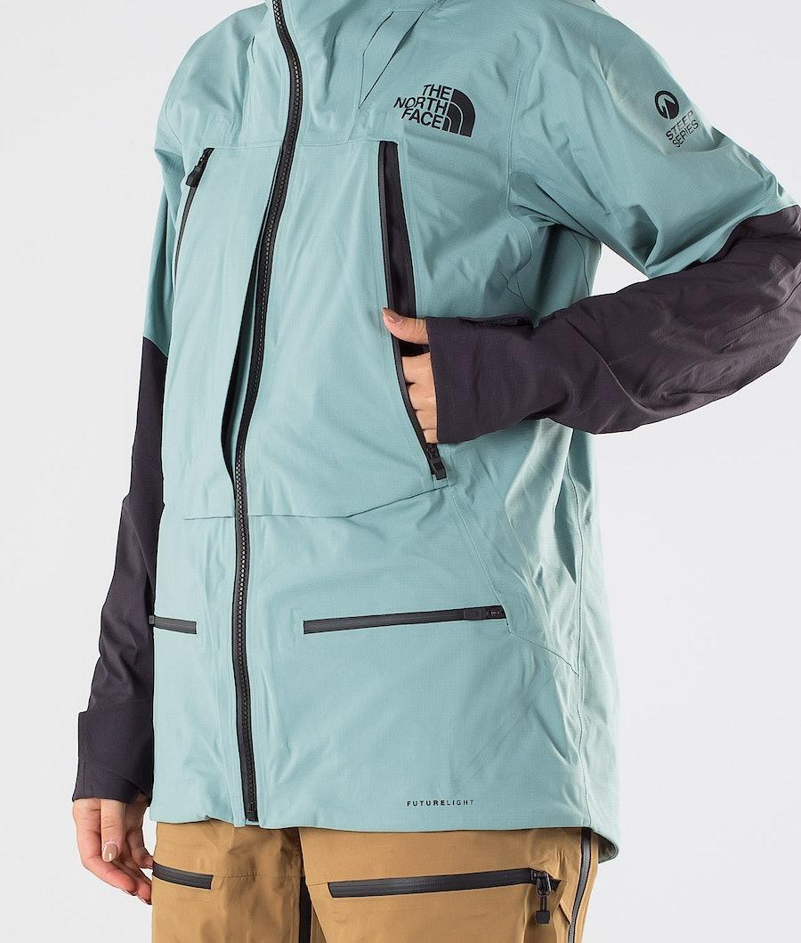 The North Face Purist Futurelight Giacca da Snowboard Donna Trellis Green/Weathrd Black