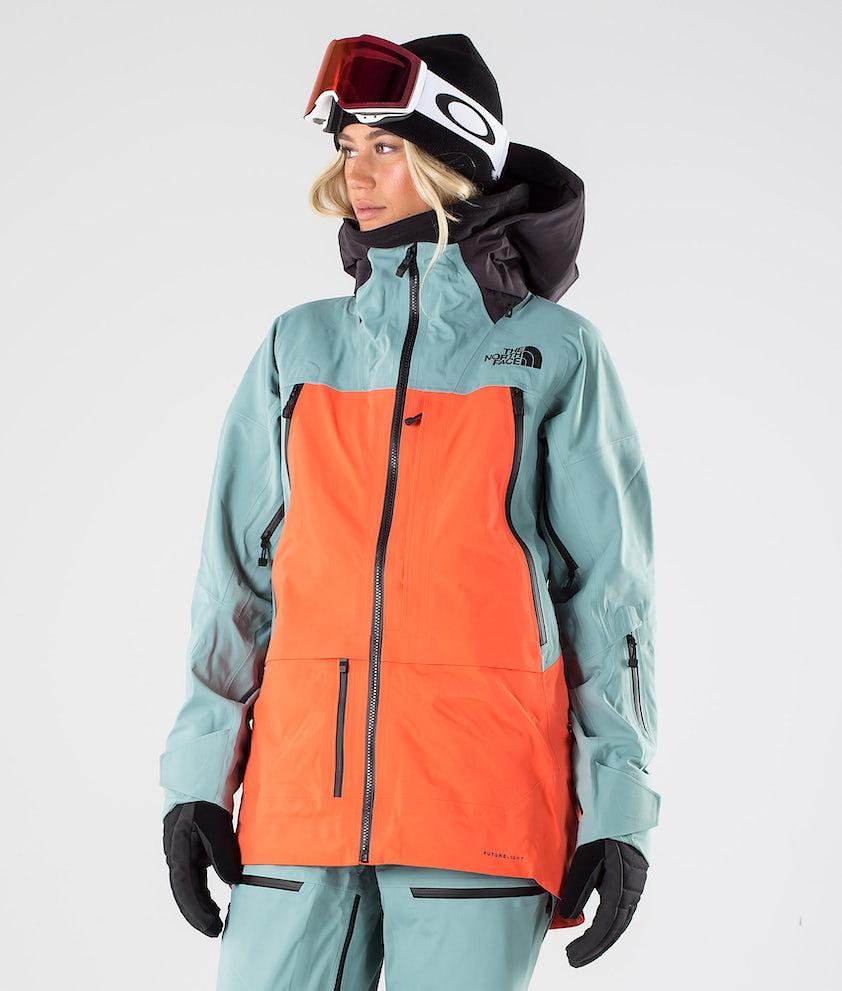 The North Face A-Cad Futurelight Snowboard Jacket Trellsgn/Radntorg/Wthrblk