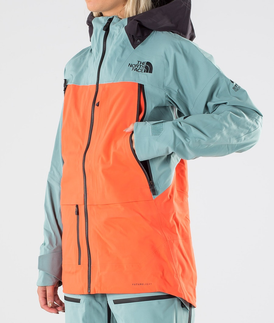 The North Face A-Cad Futurelight Women's Snowboard Jacket Trellsgn/Radntorg/Wthrblk