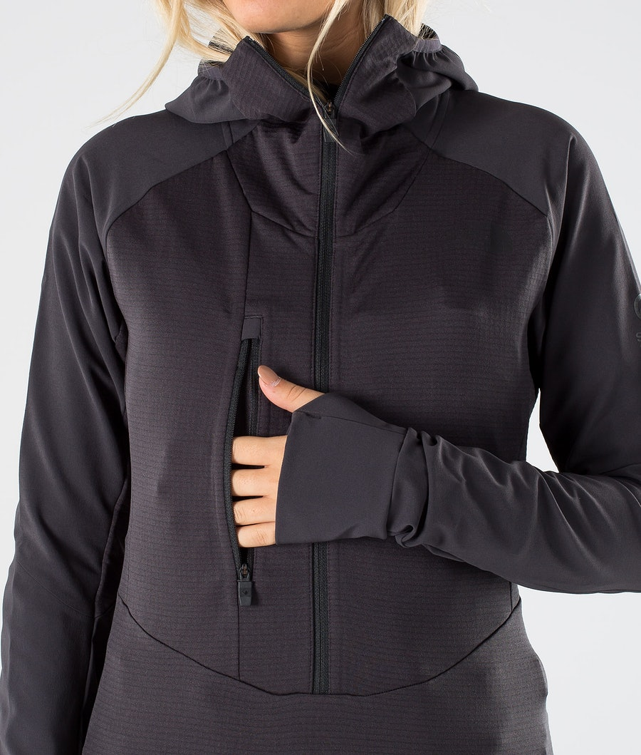 The North Face Respirator Fleece Dame Weathered Black