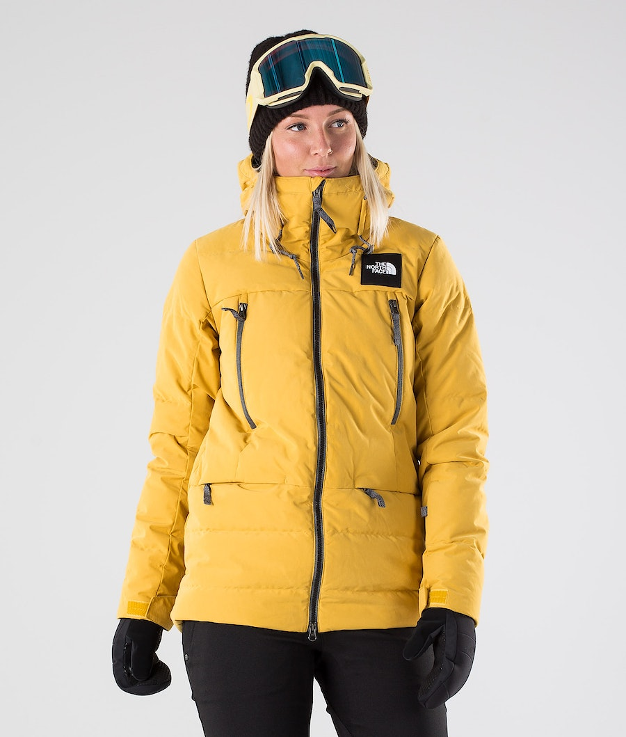 The North Face Pallie Down Snowboard Jacket Golden Spice