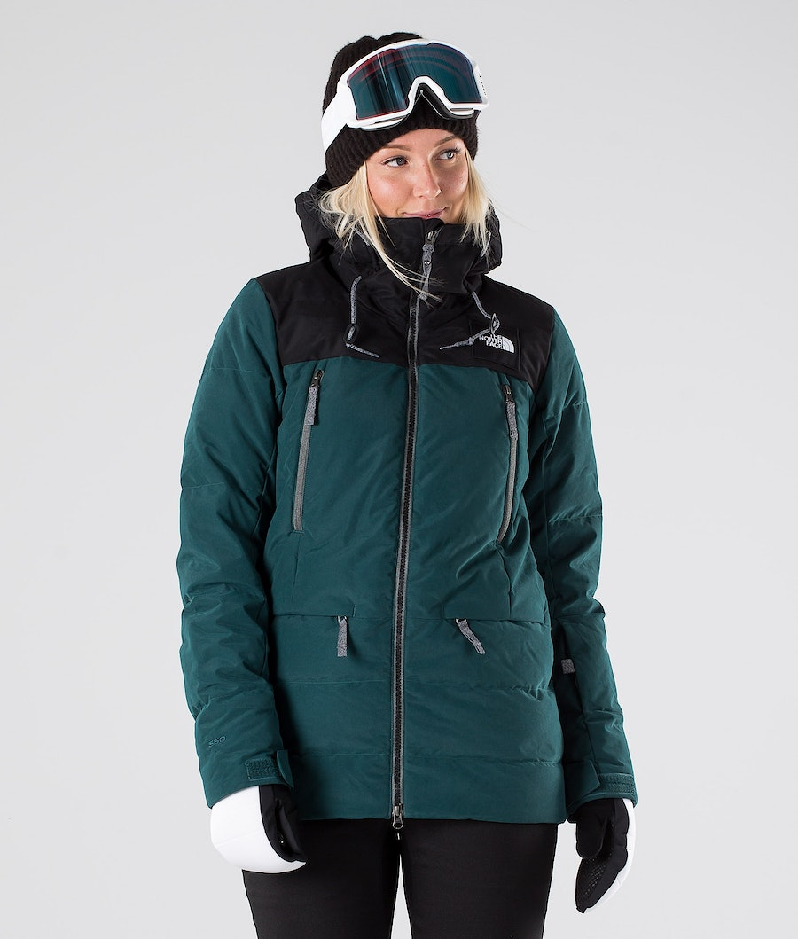 The North Face Pallie Down Snowboard Jacket Ponderosa Green/Tnf Black