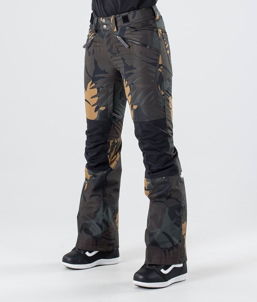 The North Face Aboutaday Snow Pants Newtaupgrnpalmsprt/Tnfblk